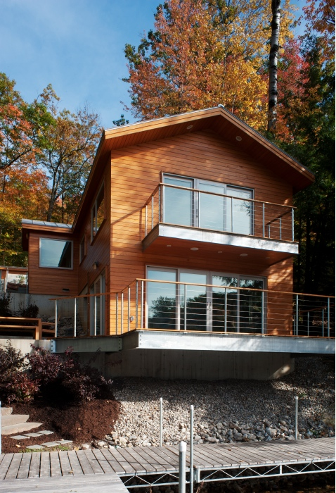 2011 design awards entries aia vermont for Building a small lake