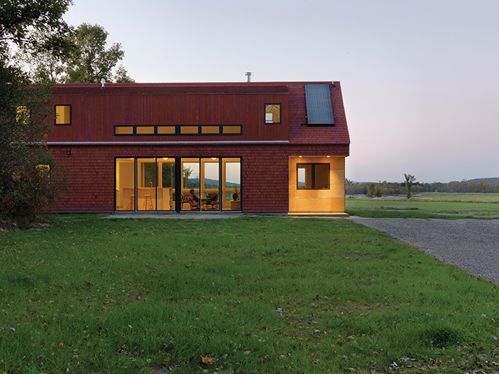 2013 design awards aia vermont for Vermont farmhouse plans