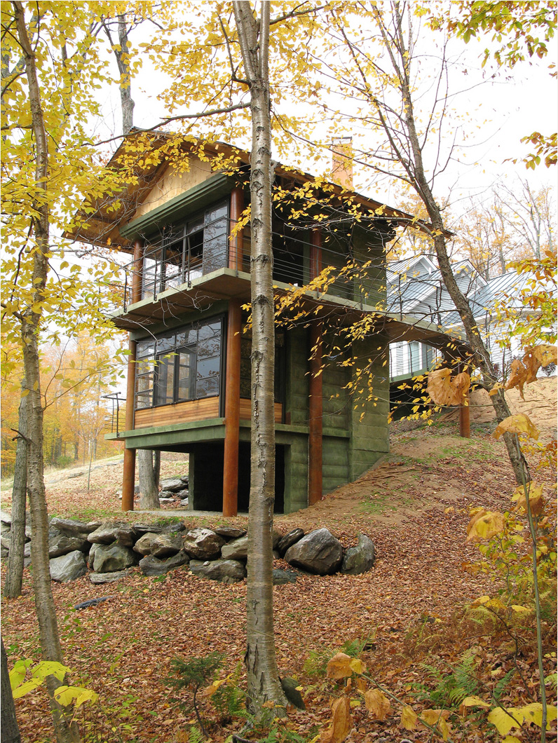 2007 design awards aia vermont for 3 story tiny house