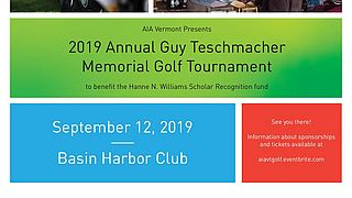 AIA Vermonts Annual Guy Teschmacher Memorial Golf Tournament 2019