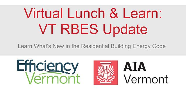 Virtual Lunch and Learn VT RBES Update