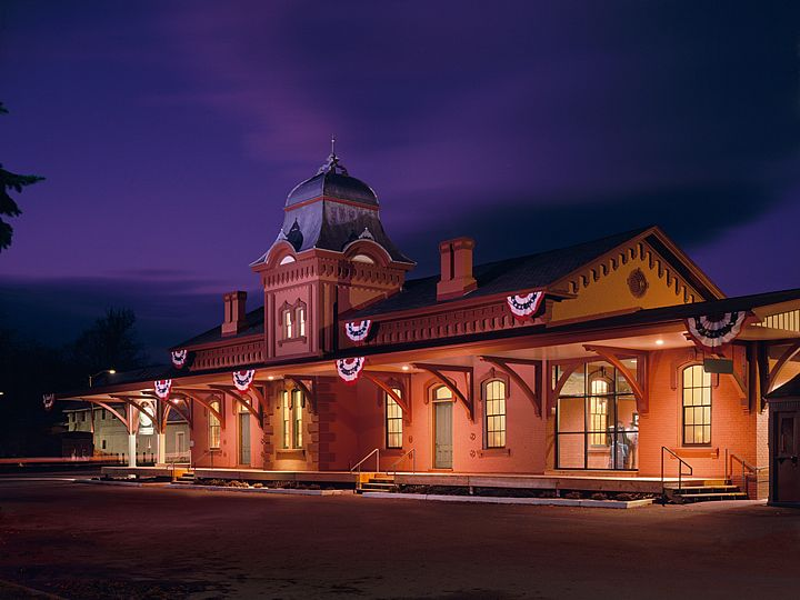 Waterbury Train Station
